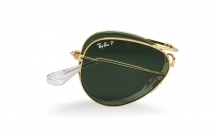 Ray-Ban RB3479 001/58 Aviator Folding Polarised