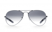 Ray-Ban RB8307 004/32 Aviator Carbon Fibre