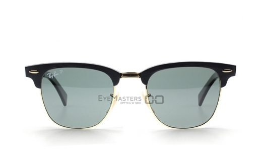 Ray-Ban RB3507 136/N5 Clubmaster Aluminium